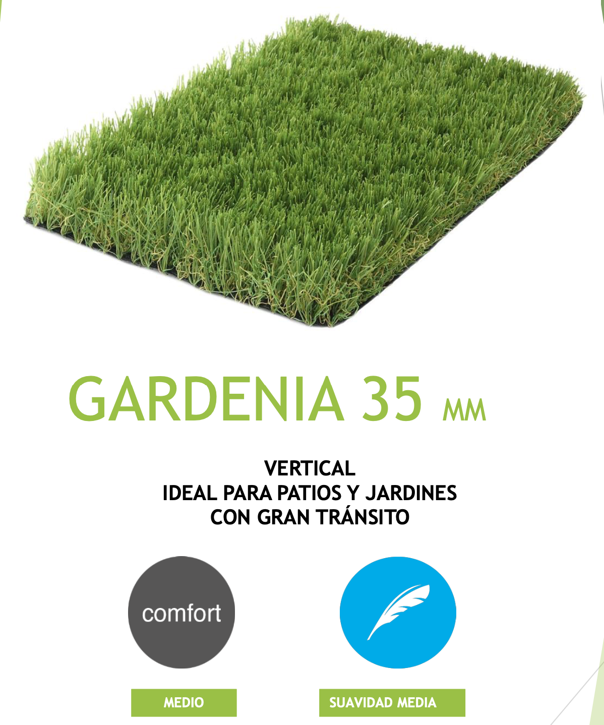 cesped artificial de 35